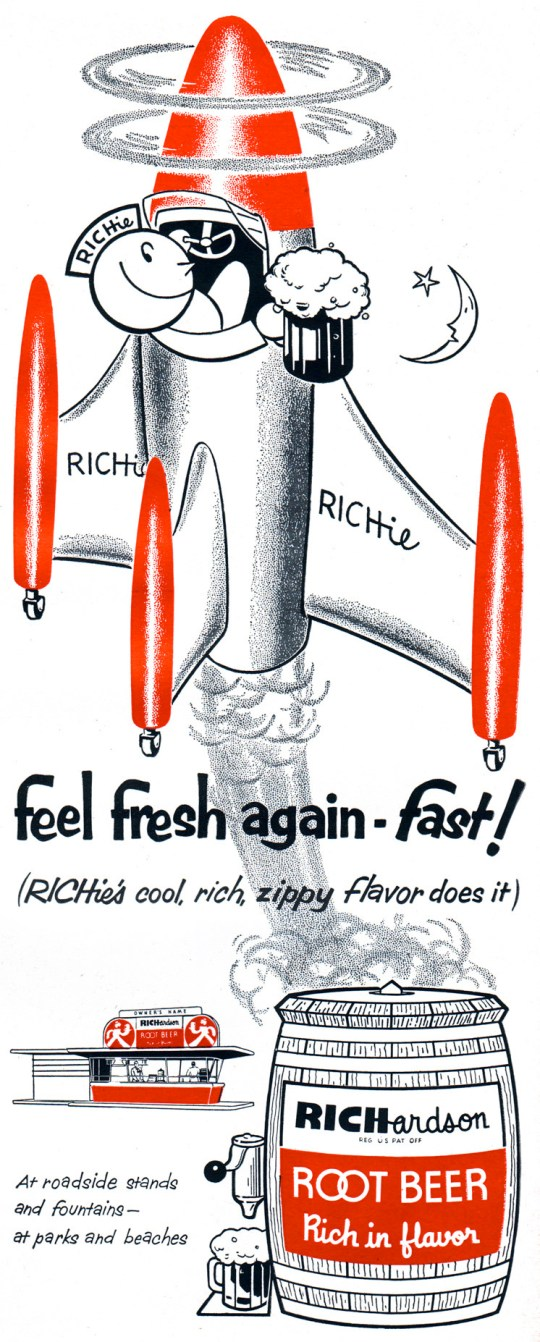 Richardson Root Beer - 1954