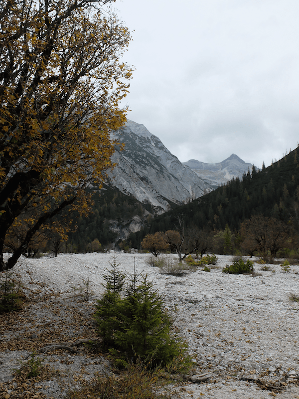mangia minga // Hallerangerhaus: hiking past the Isar headwaters