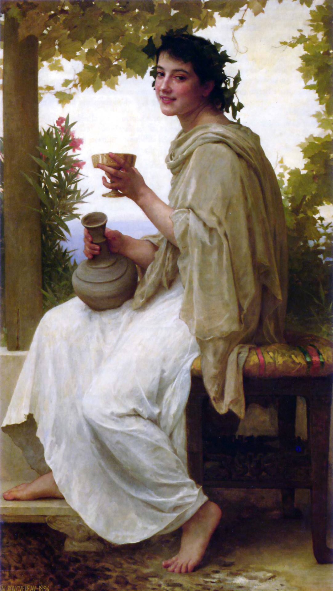 William-Adolphe Bouguereau, Bacchante, 1894