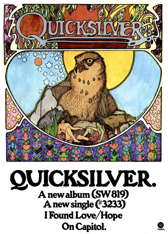 Quicksilver Messenger Service - 'Quicksilver' - published in Billboard - 1971
