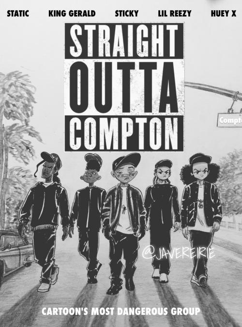 Ice Cube Family Cartoon