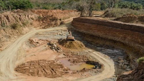 Diamond Pipe Mining Africa