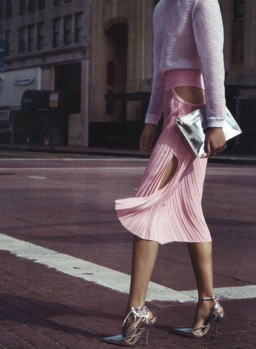 "<br /><br /><br /> ""LA VIE EN ROSE"" by Nathaniel Goldberg for Harper's Bazaar (Feb. 2014).<br /><br /><br />"