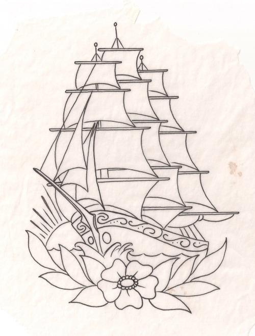 Skull Tattoos Boats
