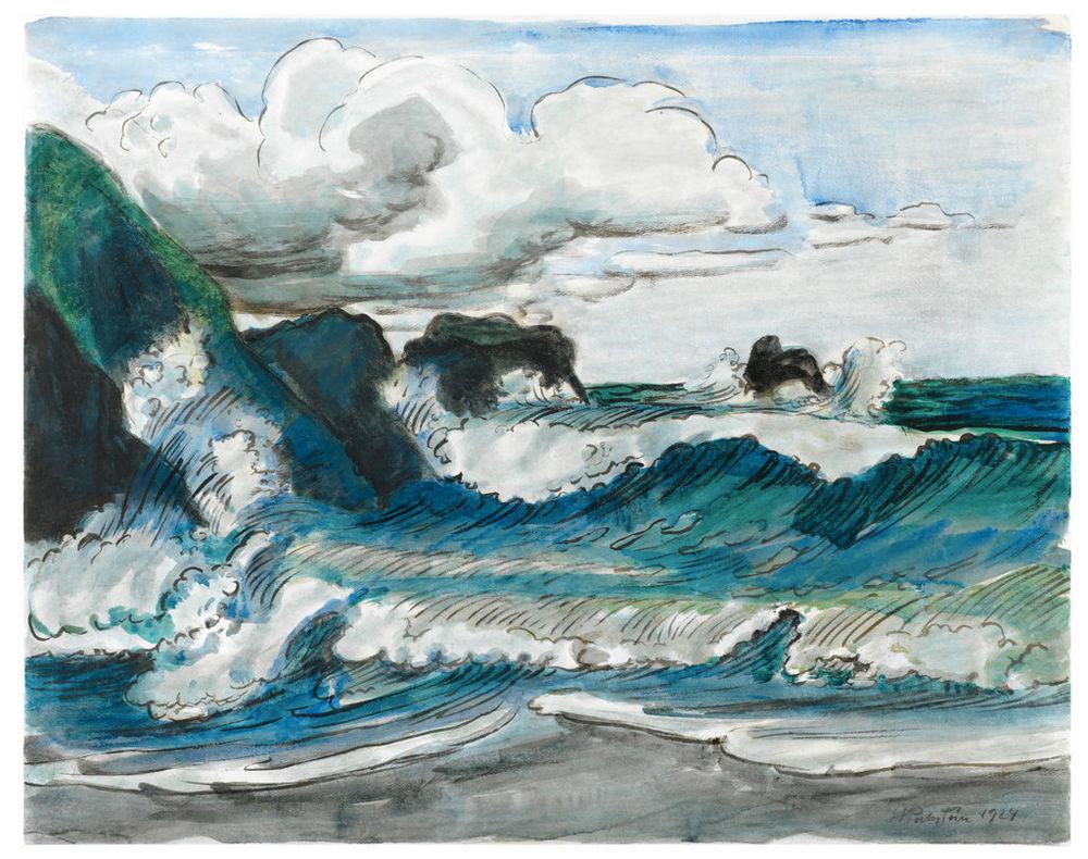 dappledwithshadow:  Max Pechstein (German, 1881 - 1955)