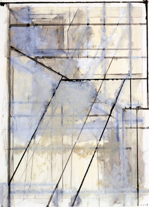 Richard Diebenkorn (USA 1922-1993)Untitled, Ocean Park (1974)acrylic on paper 28 7/8 x 21 1/8 inches