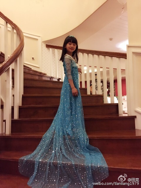 Cindy Tian Yucheng in a pretty dress
