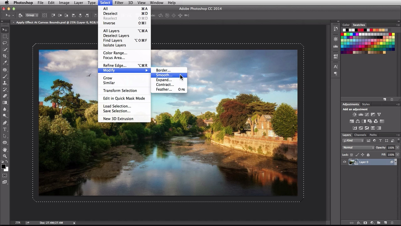 Adobe Photoshop Selections