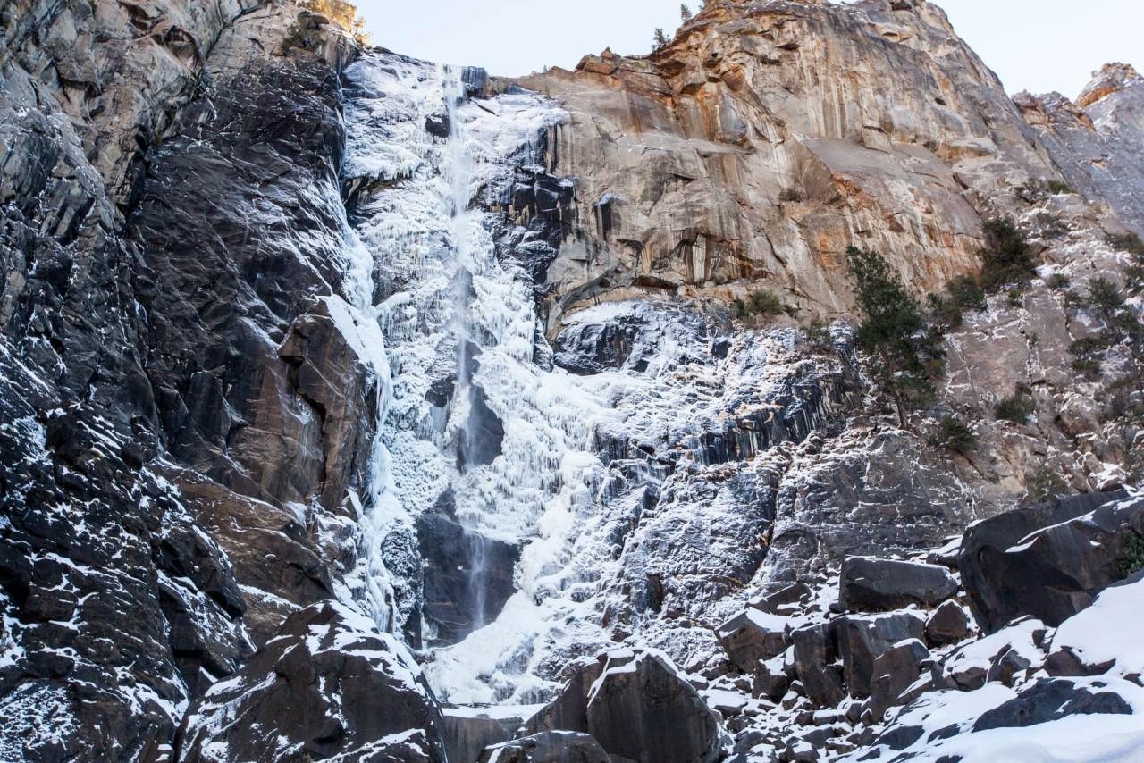 Snow Beauty Winter Art Tree Landscape Ice Waterfall