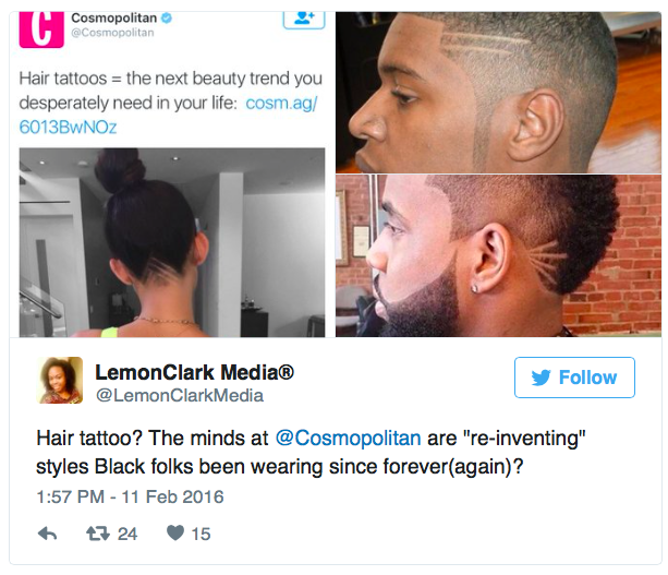 Image result for cosmo black hair