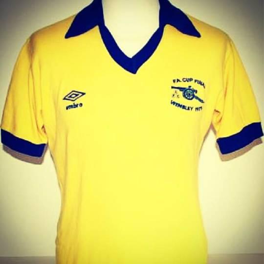 Arsenal, Umbro, 1979 football shirt
