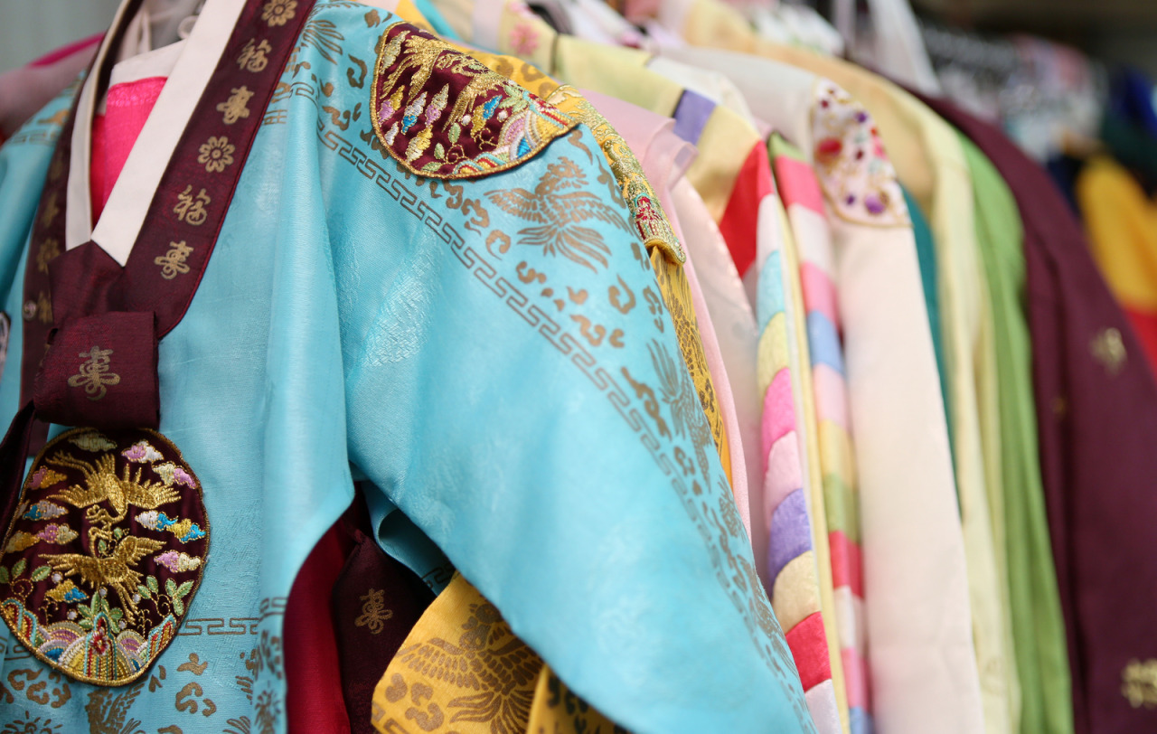 Hanbok Traditional Korean Dress Is Often Characterized