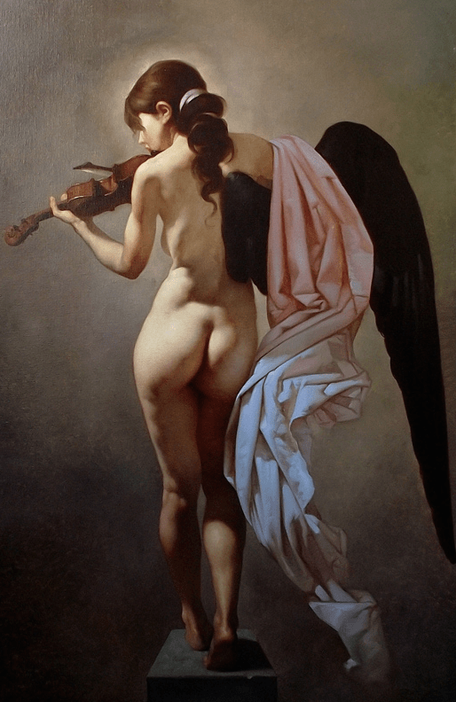 Roberto Ferri, Dark-Winged Angels