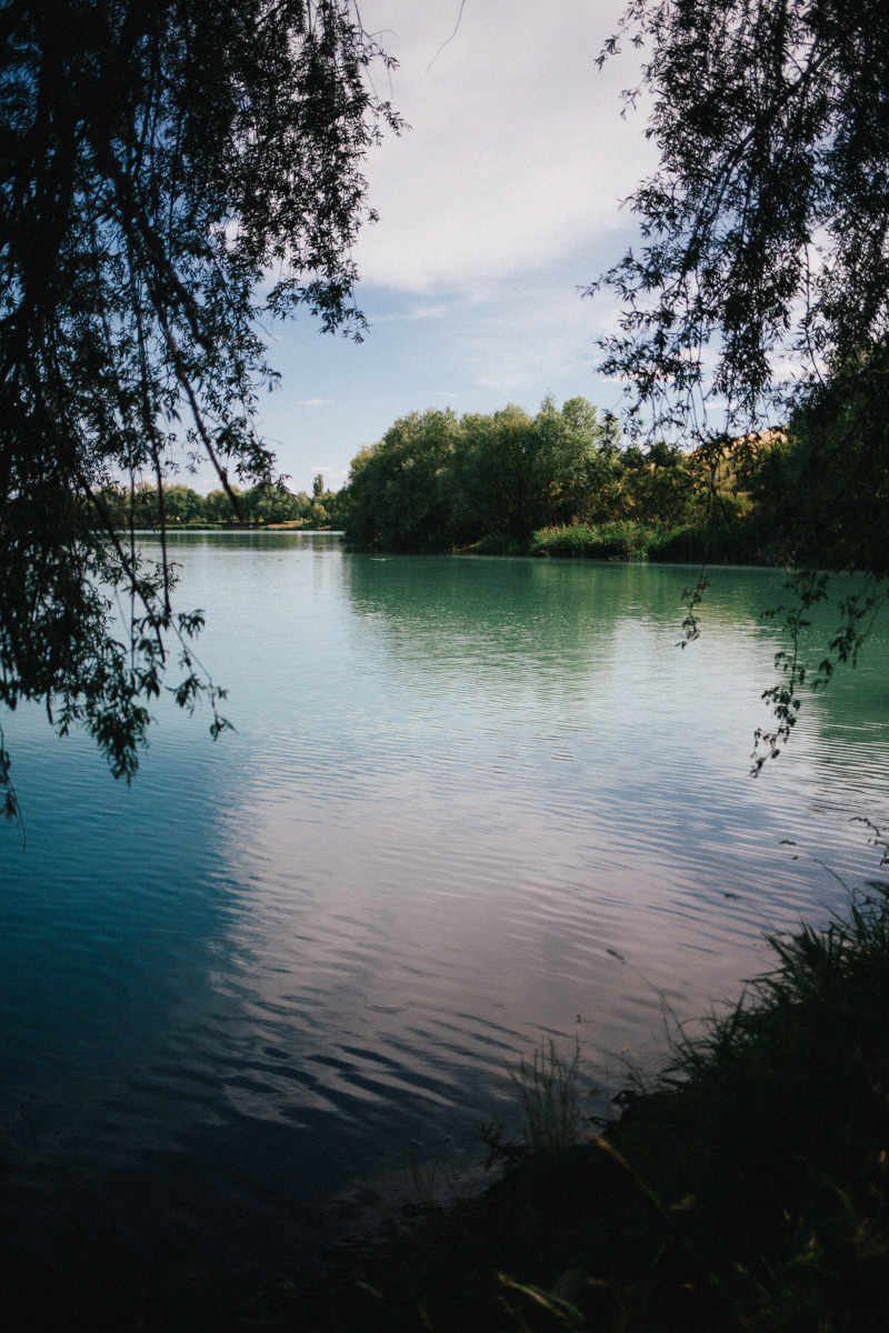 That's why we love sundays: A spontaneousshort trip with our family to Alperstedt, a beautiful blue-green colored lake in Thuringia that looks like themediterranean sea.