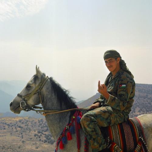 Nicolas Demeersman aka Pretty Punk (b. 1978, Seclin) - Cook, Wadirum Desert, Jordan, 2012 from ongoing Fucking Tourist series 2009-2014 Photography