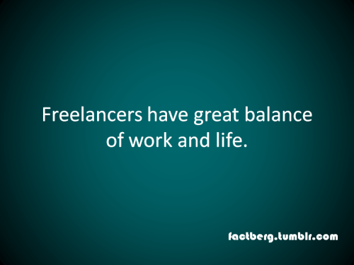 Work life balance of freelancers