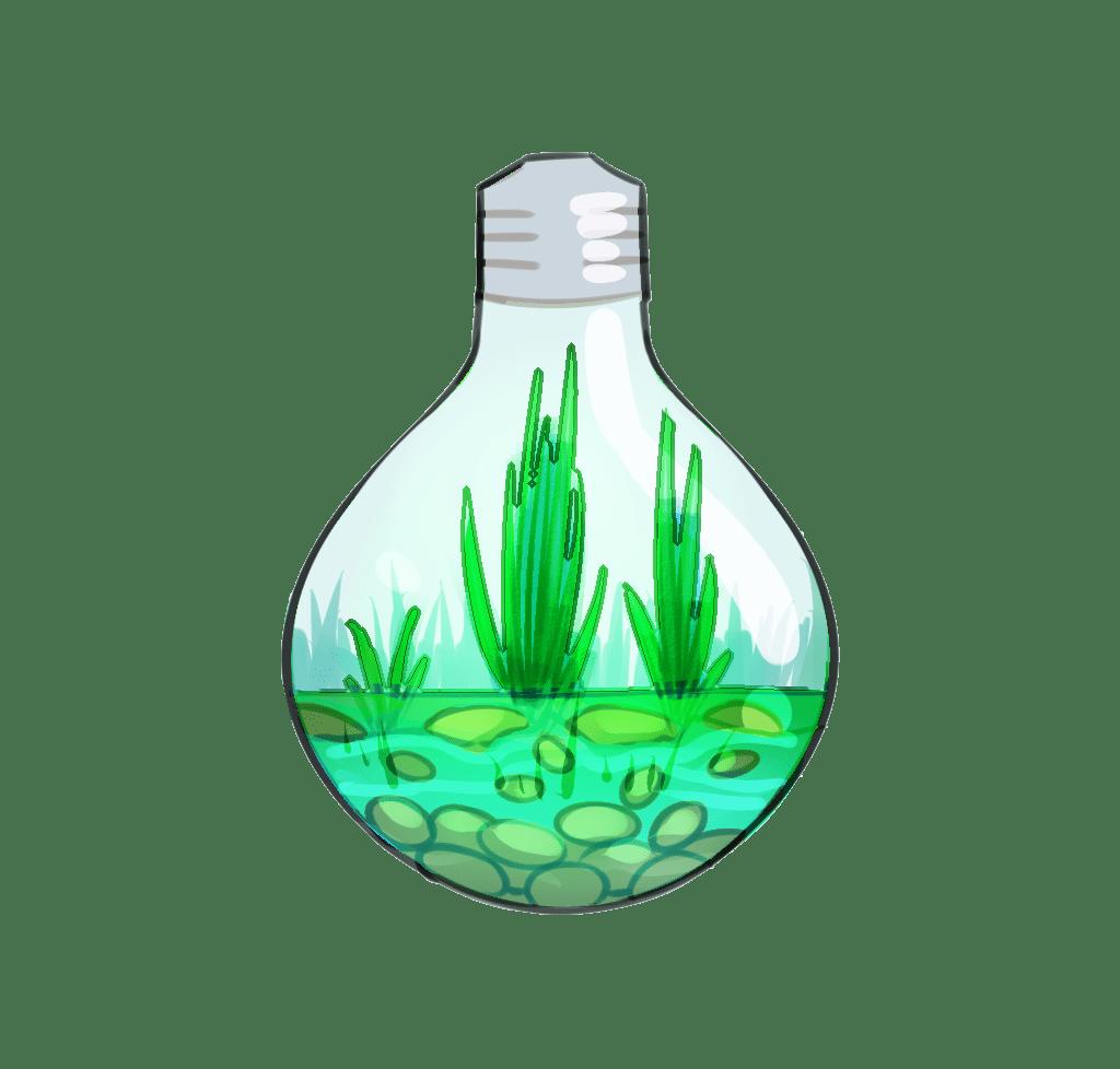 Light Green Popular Aesthetic Stickers Glodakk