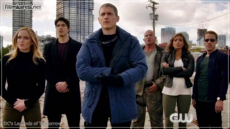 2016,42 Dak.,Arthur Darvill,Franz Drameh,Victor Garber,Caity Lotz,Wentworth Miller,ABD,DC's Legends of Tomorrow,Dizi,