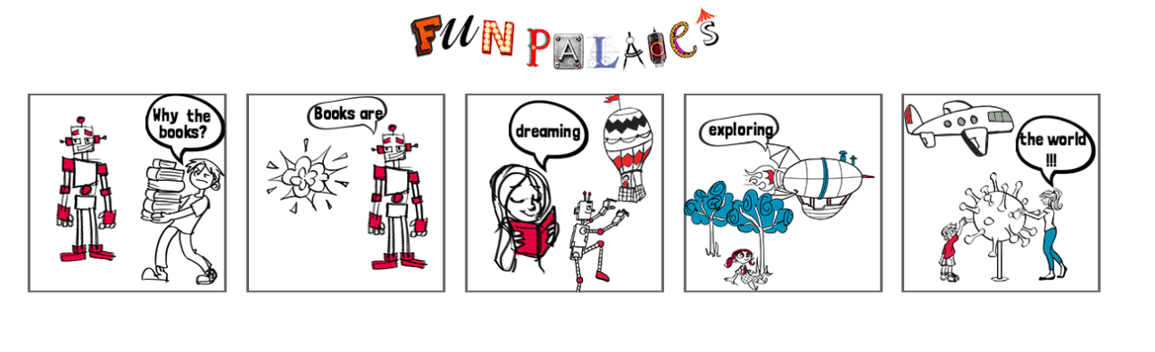 A Fun Palaces comic