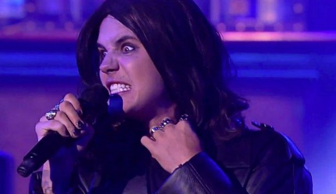 MOST CONVINCING GENDER BENDING OF THE YEARThis belongs to Justin Bieber.  The same Beebs who was nude this year online.. the same Beebs who did anything Beebs does. In 2015 he   became a sensation online for his impression of Ozzy singing CRAZY TRAIN on the Lip Sync Battle..   And in my opinion, had a striking likeness to Monica Lewinsky..