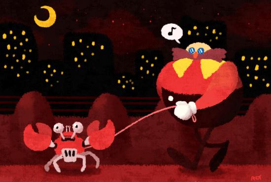 Crab Walk by AKrakenfinsoup