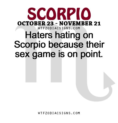 Sex for scorpio