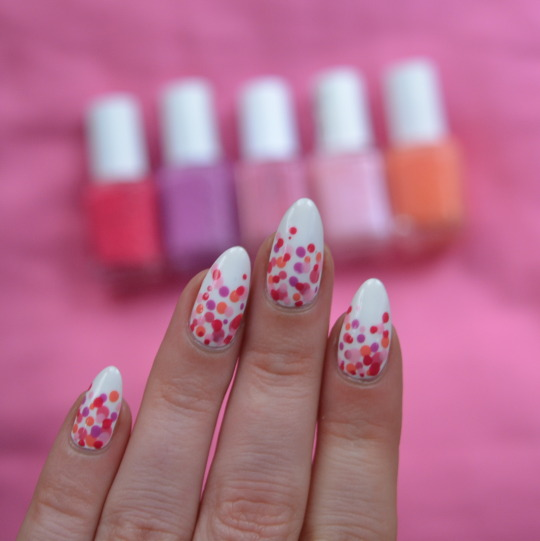 Spring Bubble Nail Art From Essie