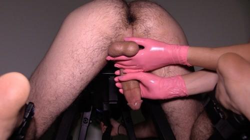 Prostate milking bench