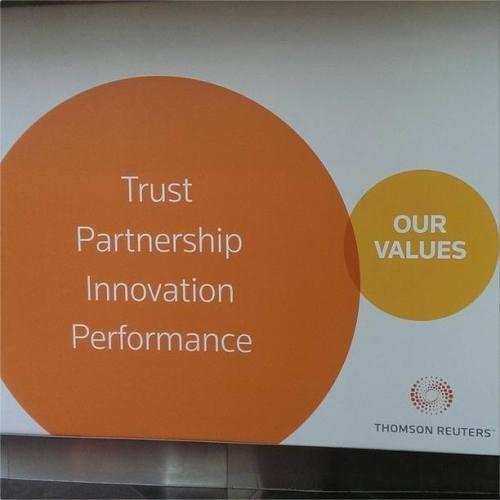 Thomson Reuters values