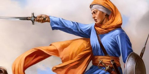 rupinder: Mai Bhago.~ She is one the biggest inspirations for me, how she was full of courage and how she  fought valiantly, showcasing the power of a Kaur.  Who was Mai Bhago ~ She was also known as Mata Bhag Kaur, she was married to Bhai Nidhan Singh Varaich of Patti.  A group of 40 Sikh Soldiers said they wish not to fight no more as they feared they would be killed, so forty Sikhs wrote their names on this document which was known as a 'Bedava' and left Guru Gobind Singh Ji . When Mai Bhago heard this she was deeply distressed to hear these Singhs leaving Guru Gobind Singh Ji. She mocked them saying 'You wear bangles and run the kitchen while we join the Guru on the battlefield.' So this then led the 40 sikhs to join Guruji on the battlefield. She did get wounded in the battle but  was the sole survivor along with Guru Gobind Singh Ji and served as a bodyguard to Guruji until 1708.