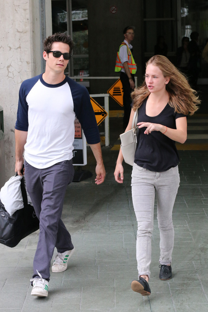 Dylan News - Dylan O'Brien and Britt Robertson in Vancouver
