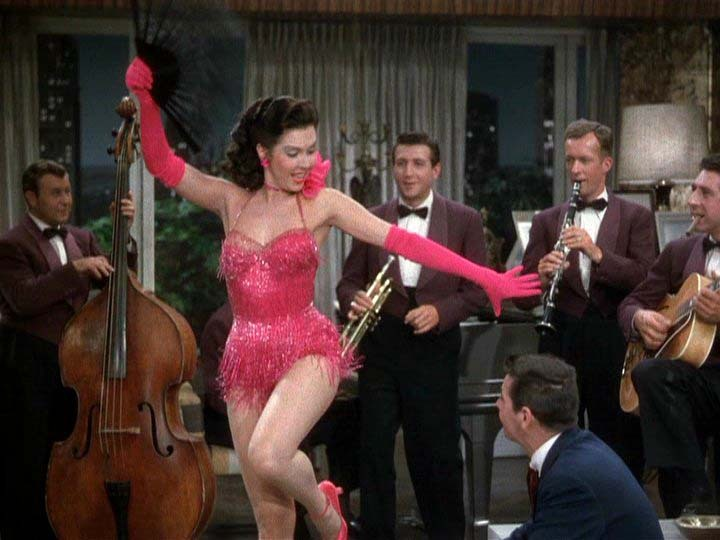 Ann Miller, Kiss Me Kate, 1953, via Yvette Can Draw, 27. Dezember 2011, DVDBeaver