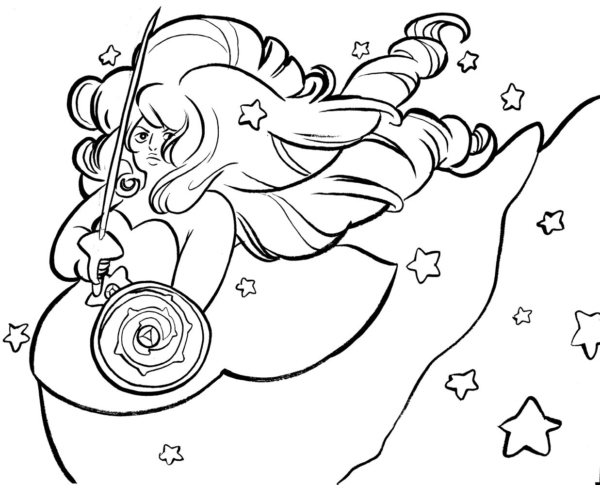 Images Universe Coloring Page