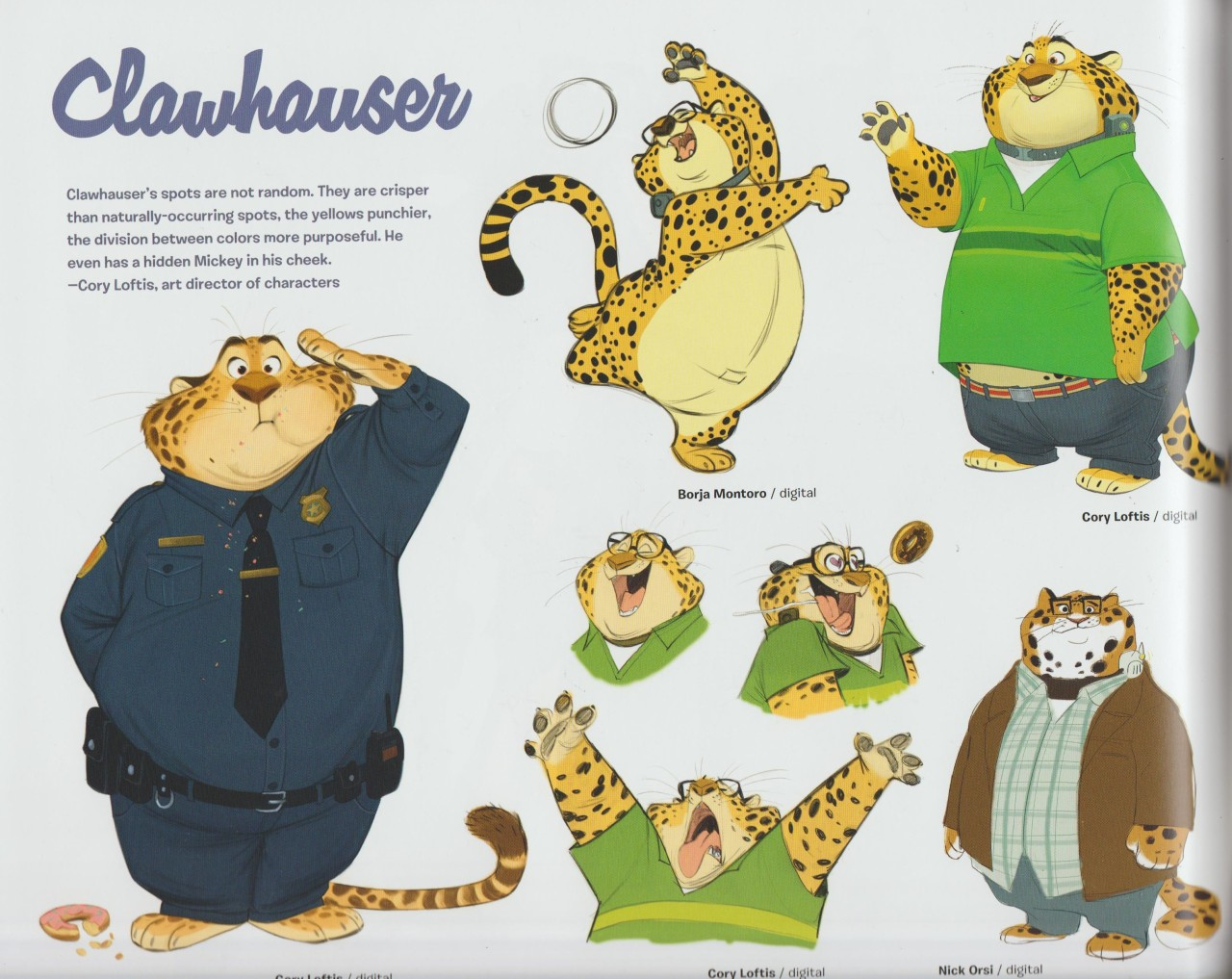 Concept Art Book Parte 2 More Pages By ZootopiaFanART On