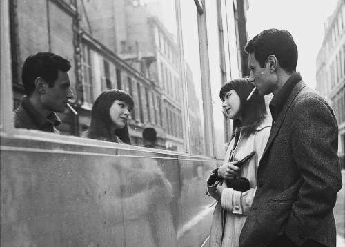 "orchidetelm:</p><br /><br /><br /><br /> <p>Anna Karina and Michel Subor on the set of ""Le Petit Soldat"",1960<br /><br /><br /><br /><br /> ph.Angelo Frontoni<br /><br /><br /><br /><br />"