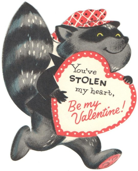 Vintage Valentine's Day card - date unknown