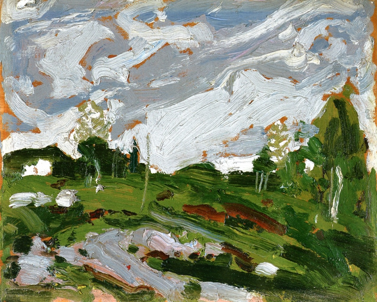 artishardgr:Tom Thomson - After the Storm 1917