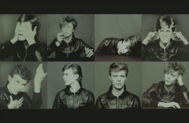 David Bowie, Heroes photo shoot wallpaper
