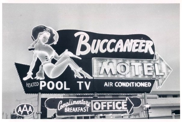 Buccaneer Motel Treasure Island, Saint Petersburg, Florida U.S.A. – 1963