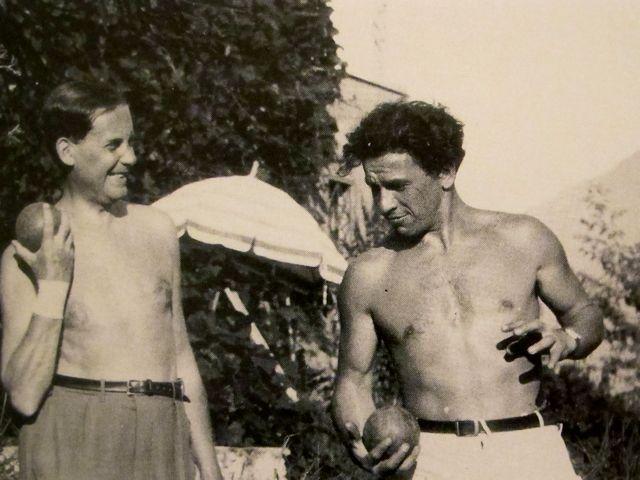 Walter Gropius & Xanti Schawinsky, Ascona, 1930