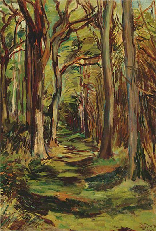 Duncan Grant - The Glade, Firle Park, East Sussex (1943)