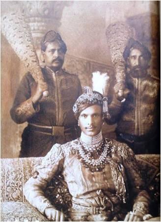 Raj Rishi Shri Sawai Maharaja Sir Jai Singh Virendra Shiromani Dev Bharat Dharam Prabhakar of Alwar (1882-1937)
