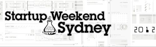 Sydney Startup Weekend 2012