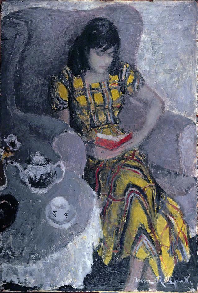 Anne Redpath (Scottish, 1895-1965)Eileen, c.1949.