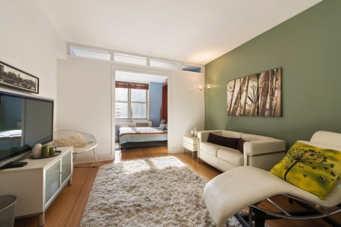Chic Junior One Bedroom Loft Near Downtown Manhattan In