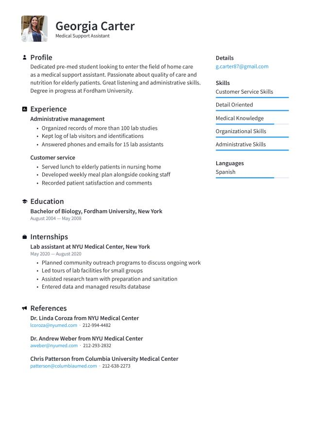 Functional resume format: Examples, tips, & free templates