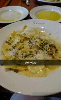 #eataly #ravioli
