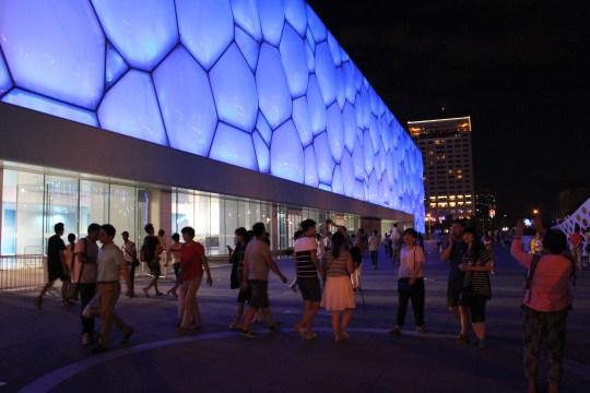 Beijing National Aquatics Center (aka Water Cube)