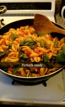 #caprese #pasta #potluck