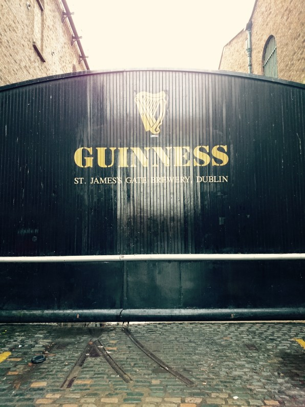 Of course, as an American, I had to visit the Guinness factory.